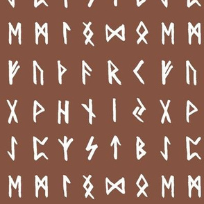 Nordic Runes on Ironstone // Small