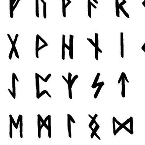 Nordic Runes // Large