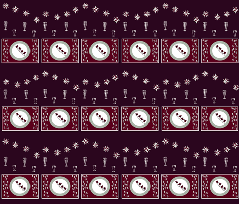 Winter Holiday Settings - Limited Palette fabric by b2b on Spoonflower - custom fabric