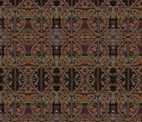 Rust fabric by whimzwhirled on Spoonflower - custom fabric
