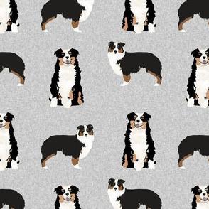 aussie tri dog fabric quilt coordinate