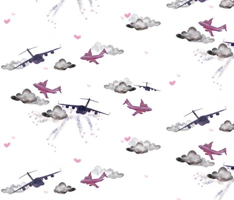 C17 pink fabric by jennikainoriginals on Spoonflower - custom fabric