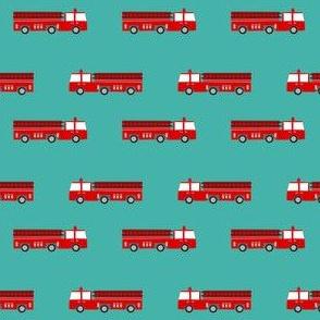 firetruck careers kids service fireman teal