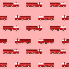 firetruck careers kids service fireman pink