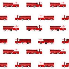 firetruck careers kids service fireman white red