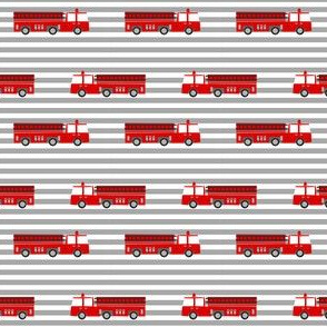 firetruck careers kids service fireman stripes grey