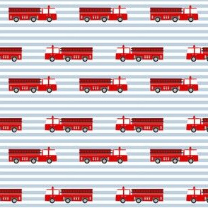 firetruck careers kids service fireman blue stripes
