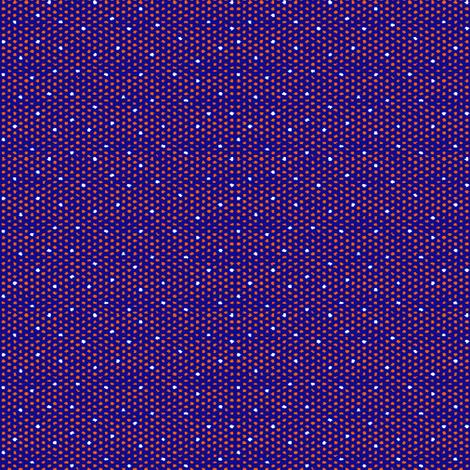 Orange on Blue Polka Dot fabric by agregorydesigns on Spoonflower - custom fabric