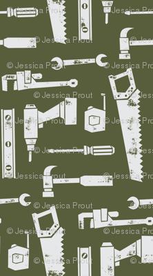 tools - hunter green (90)