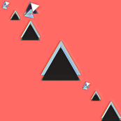 Descending Black Triangles