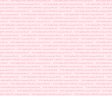 InTheRhythm-pink on pink fabric by knitifacts on Spoonflower - custom fabric