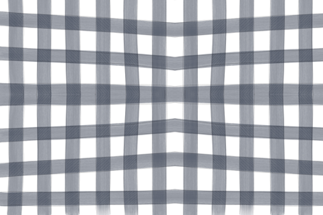 Everett Check in Navy  fabric by averielaneboutique on Spoonflower - custom fabric