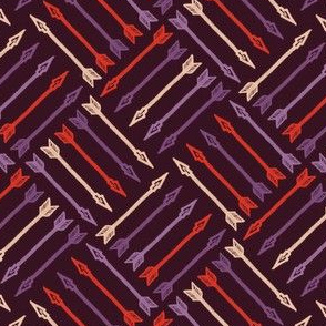 Arrows - Vintage Matchbox Dark