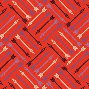 Arrows - Vintage Matchbox Red