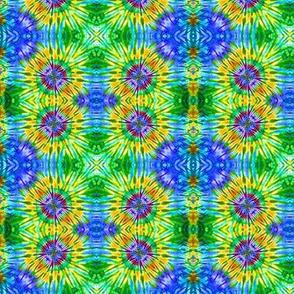 Blue & Green Block Vibrations