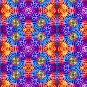 Purple & Orange Block Vibrations
