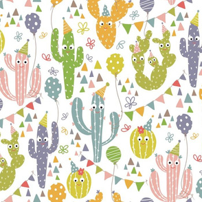 Cactus Party Print