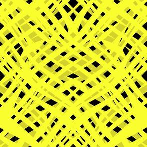 Neon, abstract , black ,yellow