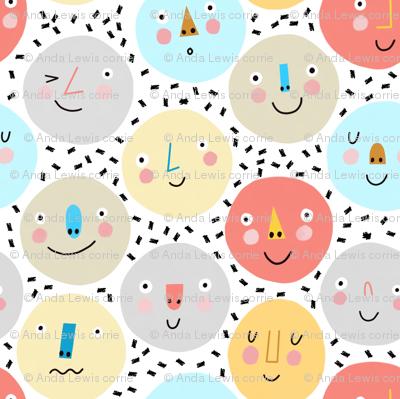 Confetti Heads