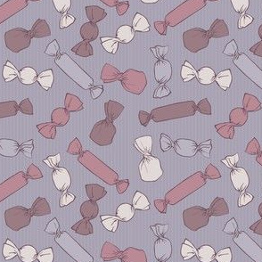 Candy Pattern Gray