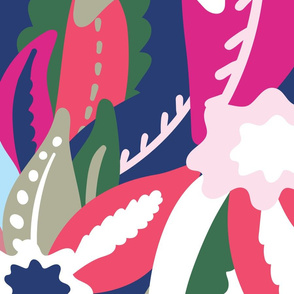 From The Tropics - Colourway Pinks