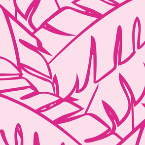 Into The Palms - Colourway Pinks 1