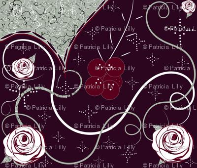 Elegant Holiday Rose & Berry