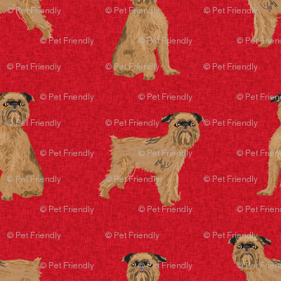 brussels griffon (smaller scale) pet quilt a dog breed nursery coordinate