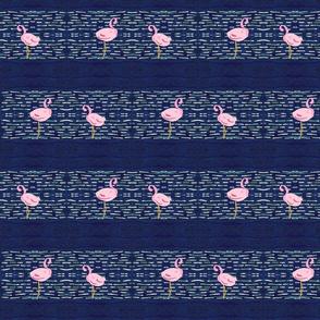 Flamingo Lagoon - ocean