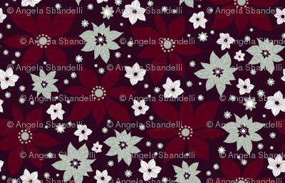 pionsettia flowers