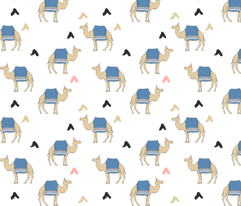 Party Camels fabric by how-store on Spoonflower - custom fabric