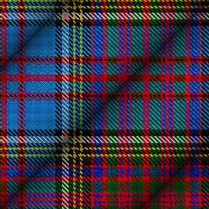 Anderson Clan Diagonal-Cylindrical Tartan