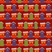 Vivid Bird Houses