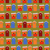 More bird homes.