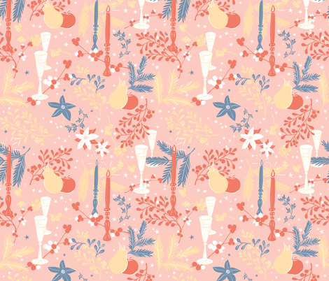 champagne! fabric by charlotte_lorge on Spoonflower - custom fabric