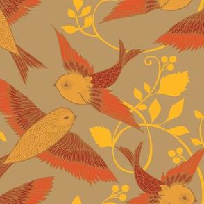 Flame Birds