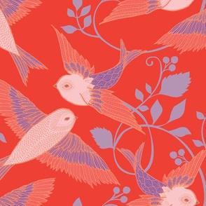 Scarlet Birds
