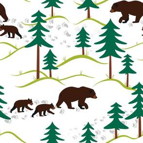 Mamma bear, baby bear (large)