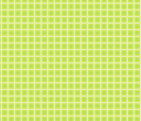 Plaid - Green, Yellow, and White fabric by curtis_mcgintus on Spoonflower - custom fabric