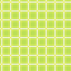 Plaid - Green, Yellow, and White
