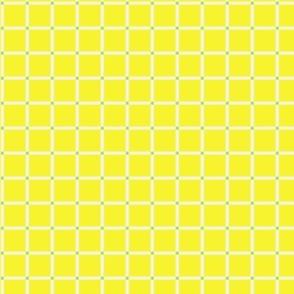 Simple Plaid - Yellow