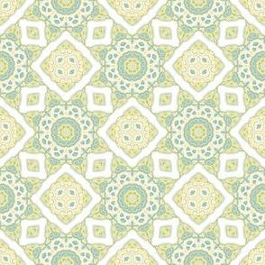 Pastel oriental mosaic
