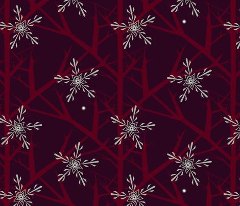 Elegant Winter fabric by tikalderon on Spoonflower - custom fabric