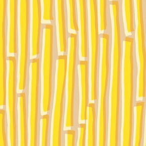 Dancing Lines - Yellow
