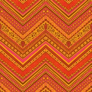 Goto Chevron - Saffron