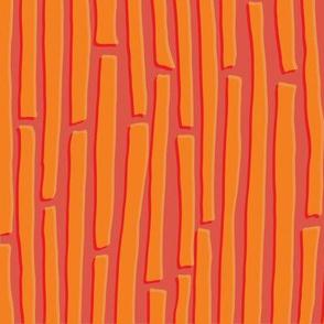 Dancing Lines - Orange