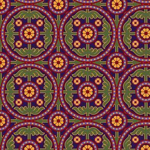 classic tile ornate