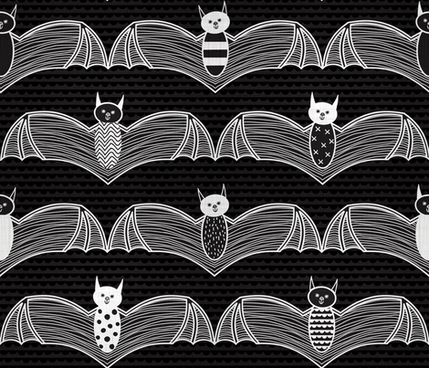 night flight fabric by booboo_collective on Spoonflower - custom fabric