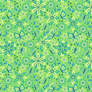 Butterfly Delight (Green)