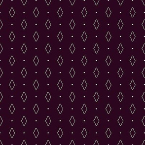 Tiny Rhombs on Dark Violet